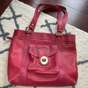 COACH H0882-F12888 Pink Leather